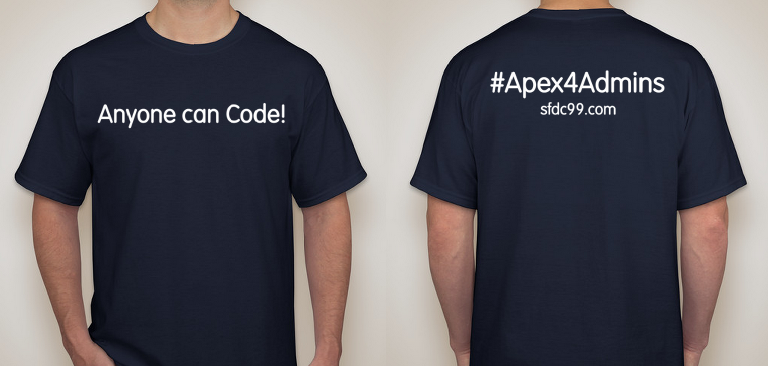 Salesforce coding lessons for the 99 page 2 of 17 for Salesforce free t shirt