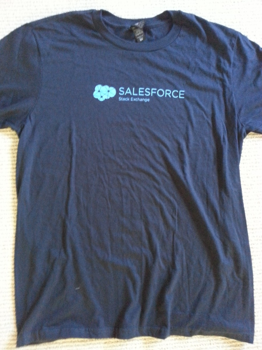 top 5 free t shirts of dreamforce 2014 salesforce