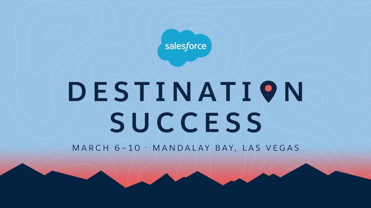 Join Me At Destination Success The Salesforce Training And