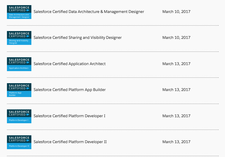10 Certifications In 10 Days How I Did It Salesforce Coding